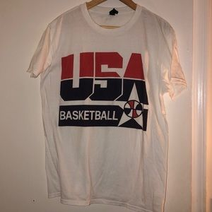 Other - USA Basketball vintage tee